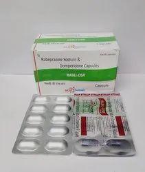 Rabeprazole Sodium20 mg& Domperidone 30 mg (ALU ALU)
