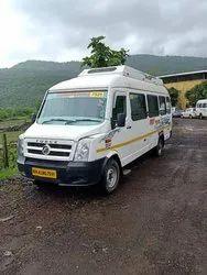 Renel 17 Seater Tempo Traveller Rental, Shirdi, Music System