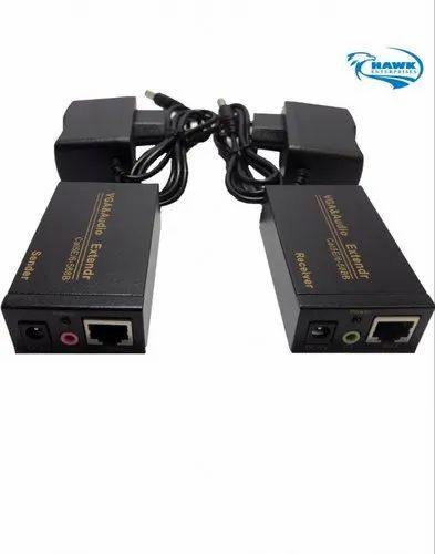 VGA Signal Extender Repeater Adapter Over RJ45 Cat Cat6 Network Cable 1 1 //