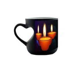 Heart Handle Coffee Mug