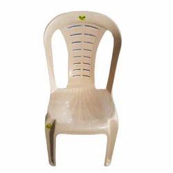 Coloured Plastic Armless Chair