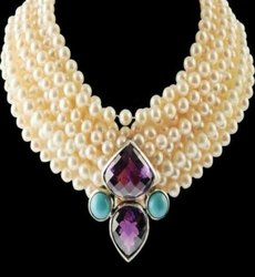 SGA Sterling Silver Necklace