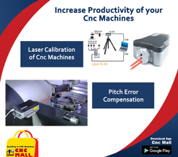 Laser Calibration Services for CNC Wire Cut Charmiles Ona Mitsubishi Sodick Chmer Agie Electronica