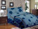 Printed Blue Bedding