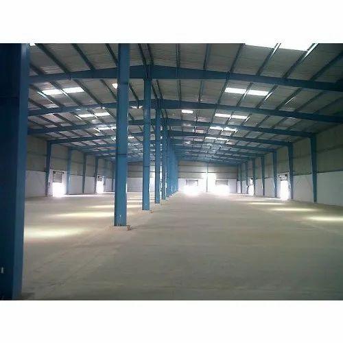 Mild Steel Modular Warehouse Shed
