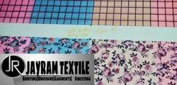 Printed Crape Fabric