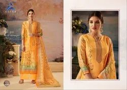 Alisa Silky Fancy Salwar Suit
