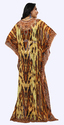 3D Digital Printed Casual Party Beach Wear High Kaftan