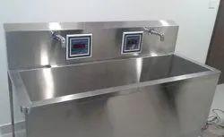Sensor Operated Scrub Sink Station