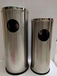 Steel Cigarette Dustbin  12
