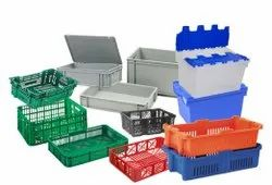 STORAGE PALLETS & CRATES