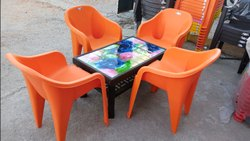 Bakery Plastic Chair Set
