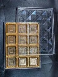 Diamond 12 Baklava Sweet Box