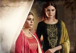 Poshak-Kessi Festival Wear Designer Jam Silk with Swarovski Work Salwar Suits
