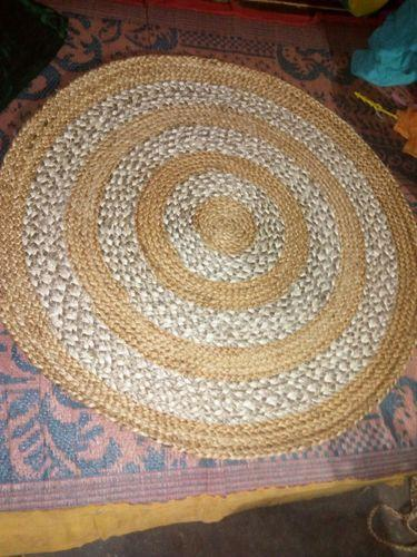 Majestic Round Jute Braided Rugs Rs