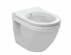 White Jaquar Wall Hung WC SLS-WHT-6951J