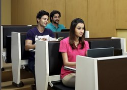 Lecture Hall Folding Desk and Chair - Godrej Namaste