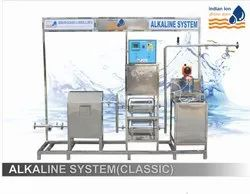 Semi Automatic Industrial Alkaline Water Plant