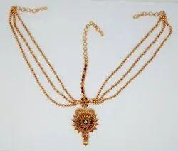 Golden Mumbai Antique Design Damini For Women