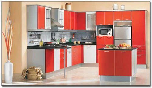 l shape pvc modular kitchen rs 1200 square feet interior