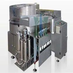 Vertical Rotary Glass Vial Washing Machine