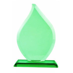 Tear Drop Crystal Trophy