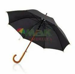 Black Wooden Umbrella
