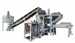 Automatic Concrete Paver And Fly Ash Block Machine