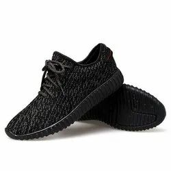 Athletic Black Sports Shoes, For Sports Wear, Size: 6-11