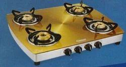 Crystal Metal Art-Gold Cooktops