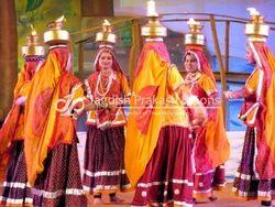 Rajasthani Folk Dancers Group in Delhi, INDIA