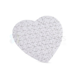 Heart Paper Puzzle Sublimation Printable Blanks Innovative Easy & Fast Lower Price Gift
