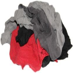 Red And Black Cotton Waste For Dusting