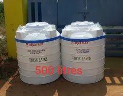 500 Liter Triple Layer Water Tank