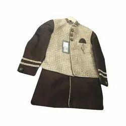 Boys Kids Party Wear Sherwani Suit
