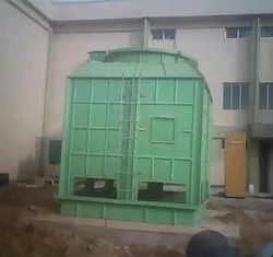 80 Tr Induced Draft Water Cooling Tower Size 1800x1800x2700mm
