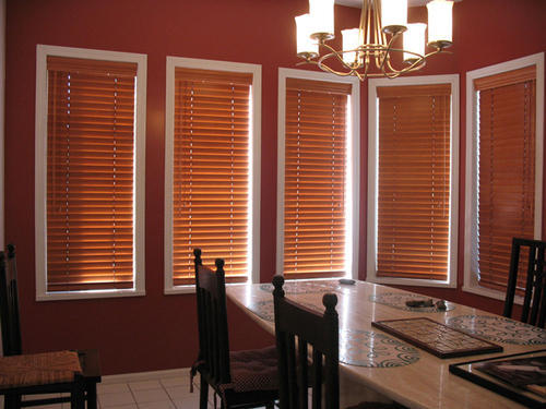 Wooden   Wooden Venetian Blinds, Size: Customised