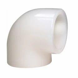 Gokul White Polyvinylidene Elbow, Size: 20 To 315mm