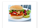 Chilly Chicken Burger (350)