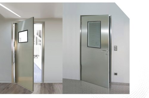 Aluminium Hollow Metal Pressed Steel Doors, For Commercial, Rs ...