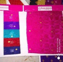 printed Silk blouse Fabric or paneri silk