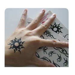Black Tattoo Stickers, for Parlour