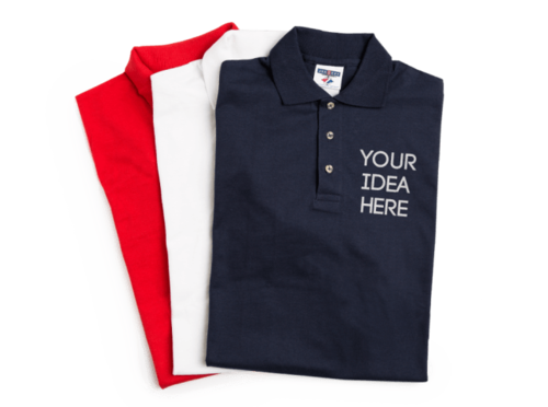 dfb1dbca Printed Custom Polo Collar T-Shirt For Corporate / Promotional Gifts ...