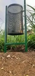 Dust Bin With M S Stand
