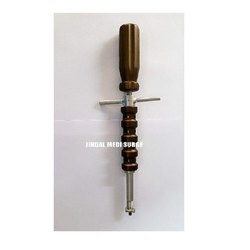 Mono and Poly Screw Driver Spinal Instrument