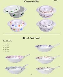 Melamine Casserole And Breakfast Bowl