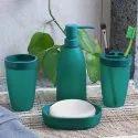 Plastic Turquoise Bath Accessories, For Home, Size: Medium