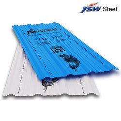 JSW Colouron GI Roofing Sheet