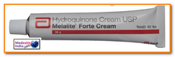 Natural Melalite Forte Cream, Normal Skin, Packaging Size: 30gm