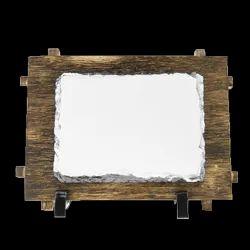 Wooden Stone Frame